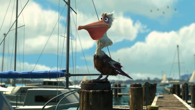 gerald personnage character monde nemo finding dory disney pixar