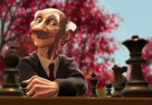 geri personnage character pixar disney game joueur échec