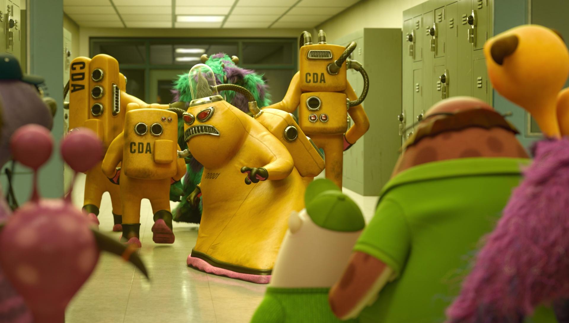 Germaine Personnage Dans Monstres Cie Pixar Planet Fr