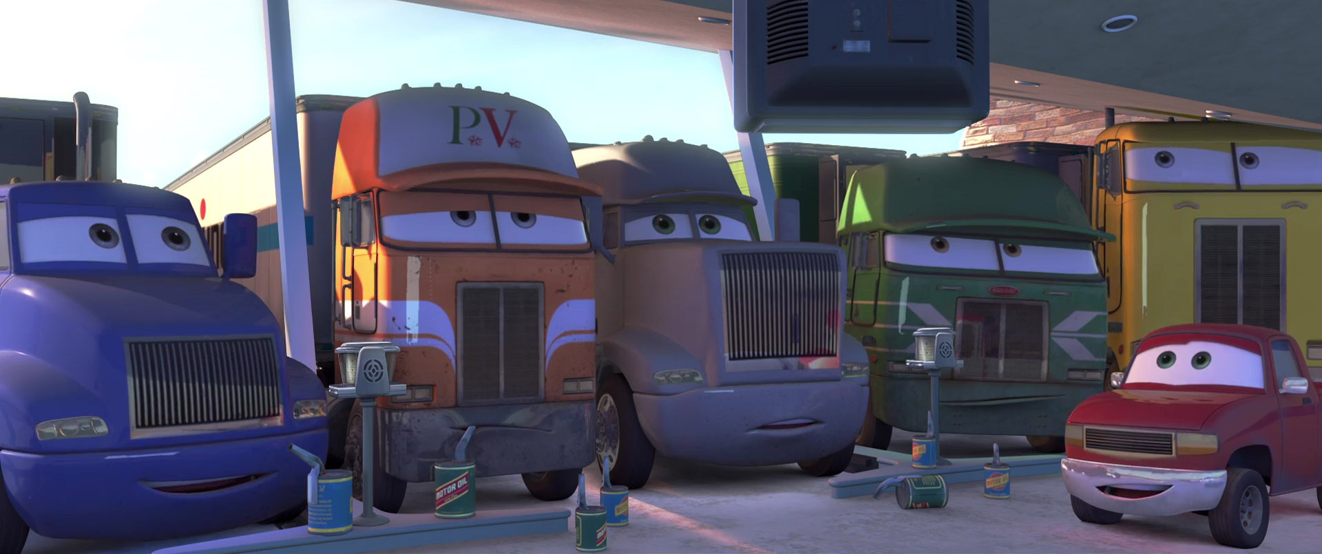 gil personnage character pixar disney cars