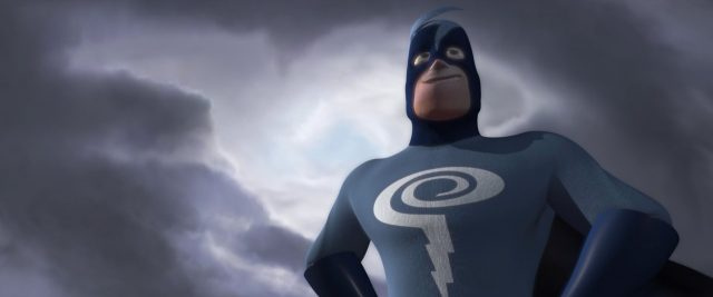 gilbert l'éclair thunderbold  personnage character indestructibles incredibles disney pixar