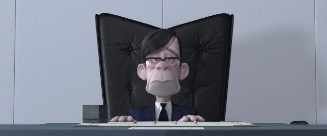 gilbert oeuf huph personnage character indestructibles incredibles disney pixar