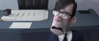 Gilbert oeuf Huph pixar disney personnage character indestructibles incredibles