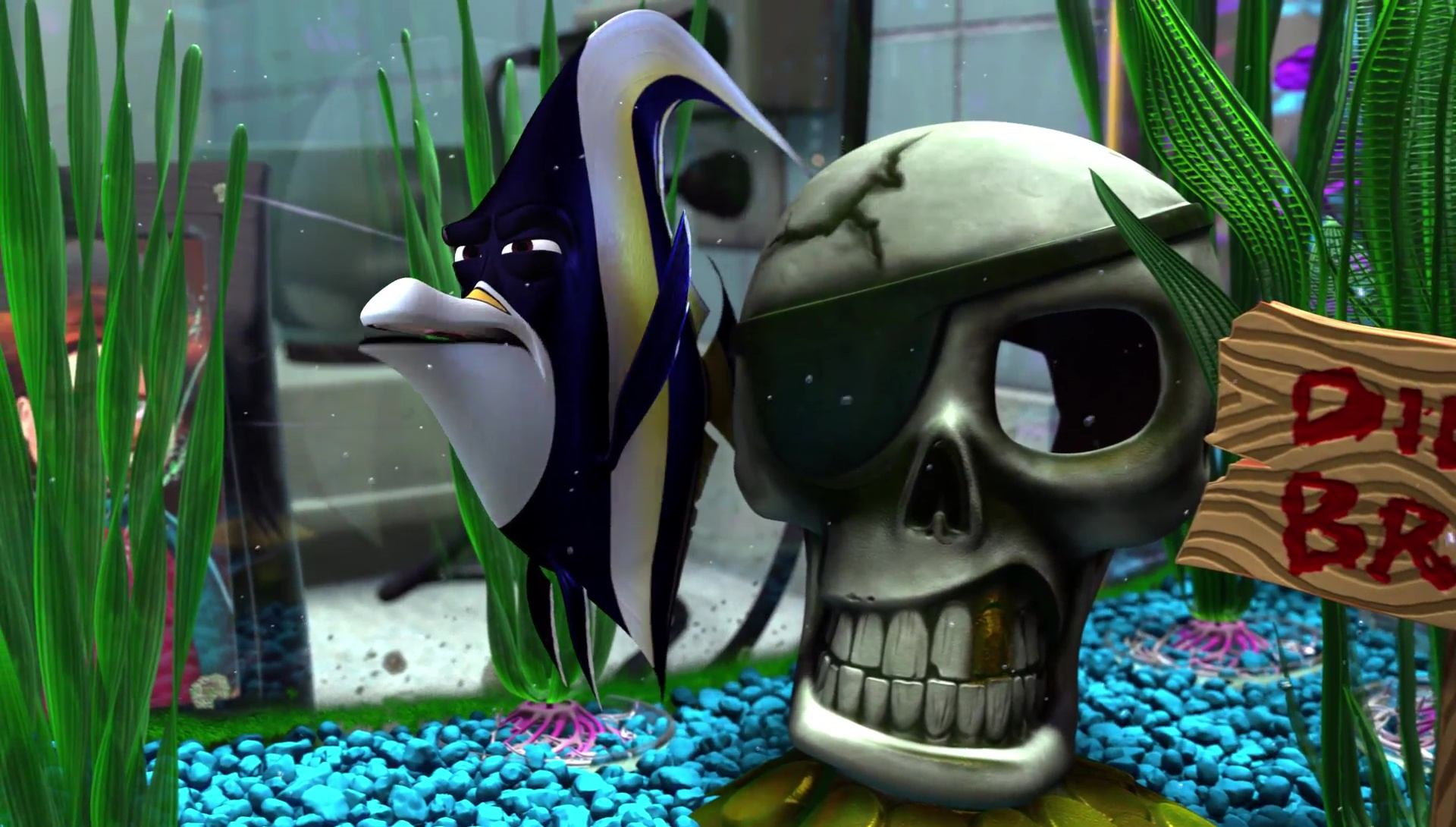 gill monde finding nemo disney pixar personnage character