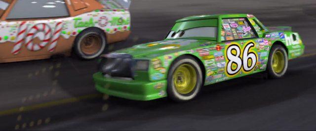 greg candyman personnage character cars disney pixar
