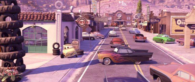 greta personnage character cars disney pixar
