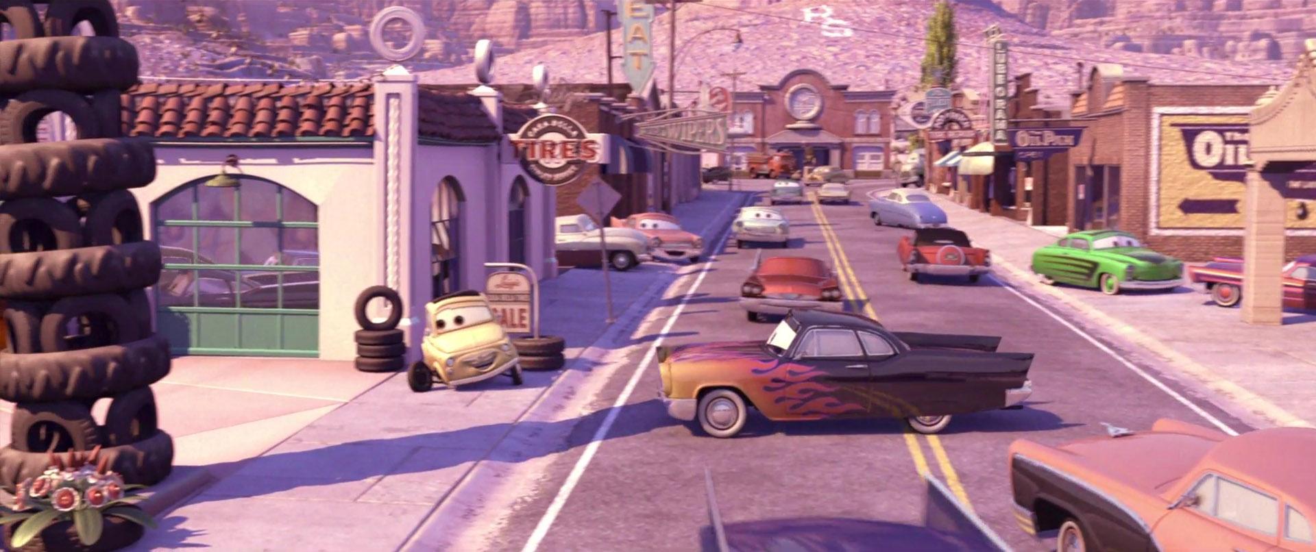 greta personnage character pixar disney cars