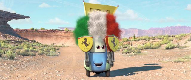 guido personnage character cars disney pixar