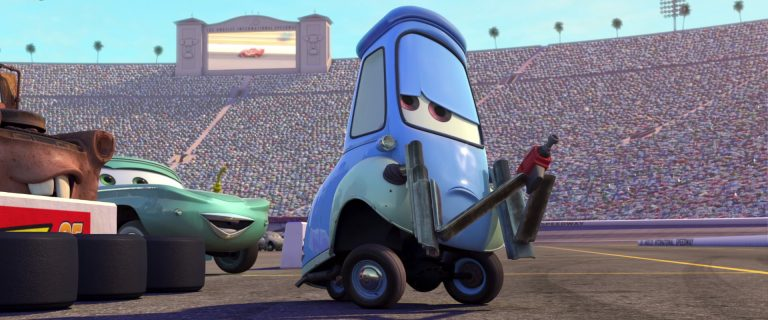 """Guido, personnage dans """"Cars""""."""