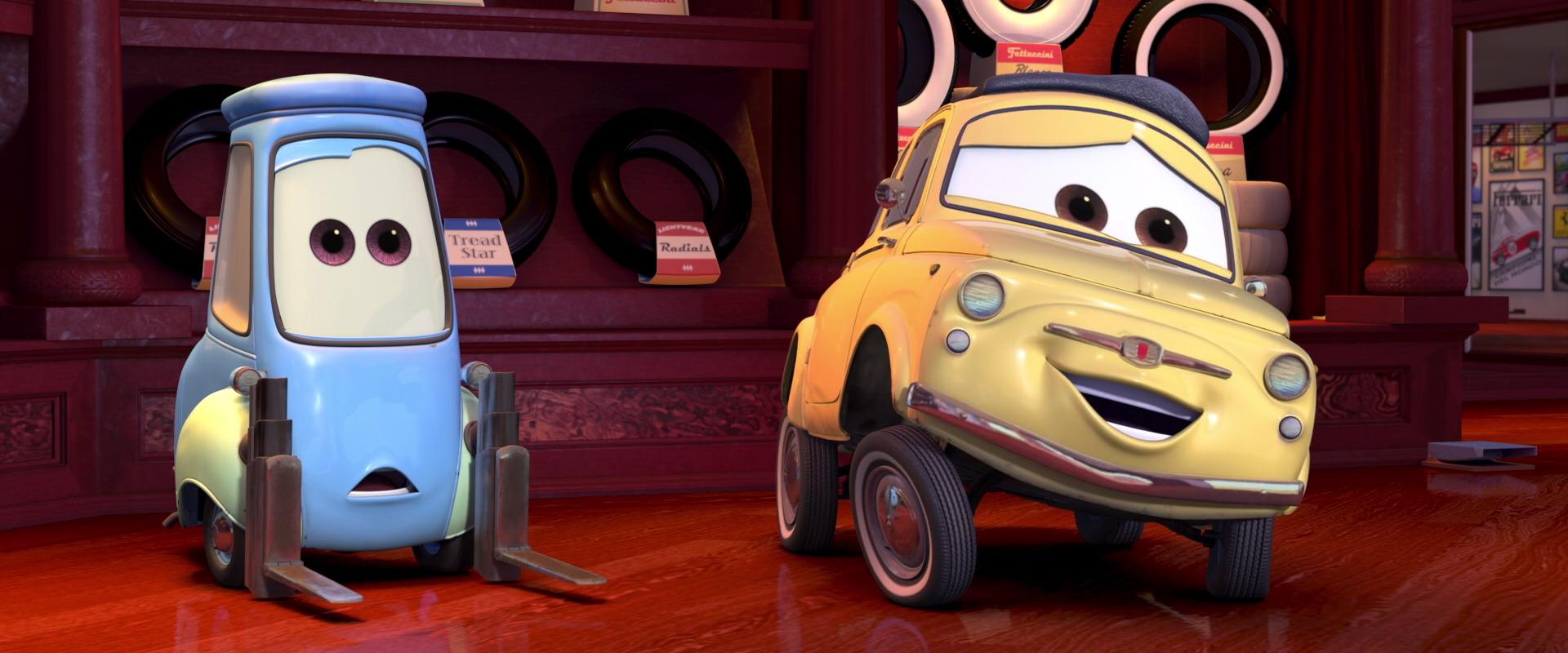 Cars  Le Personnage