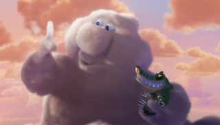 gus personnage character pixar disney passage nuageaux partly cloudy