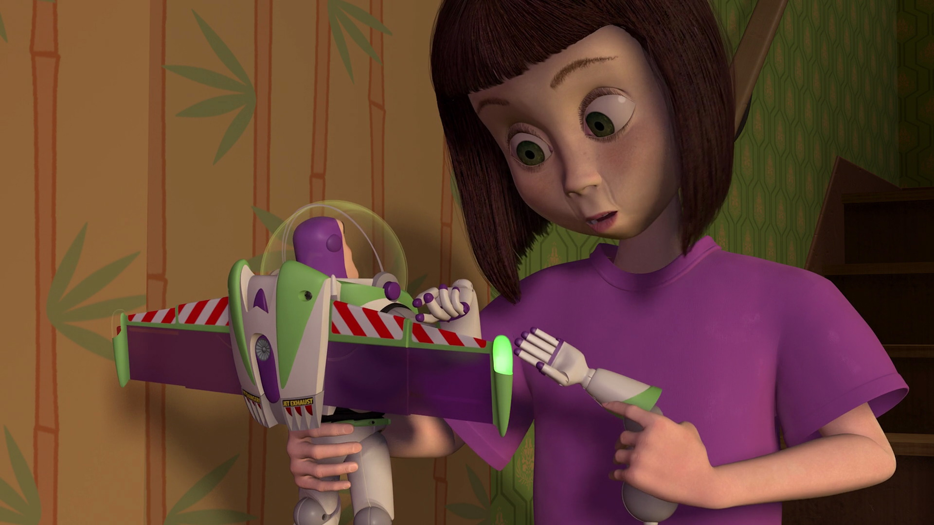Hannah Phillips Character From Toy Story Pixar Planet Fr