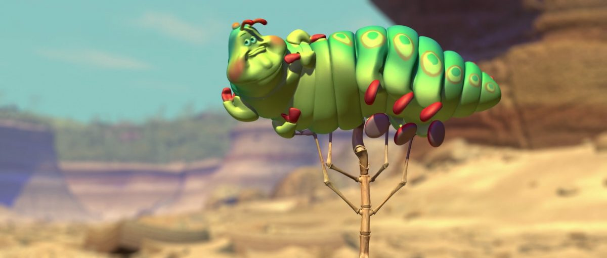 heimlich personnage character 1001 pattes bug life disney pixar