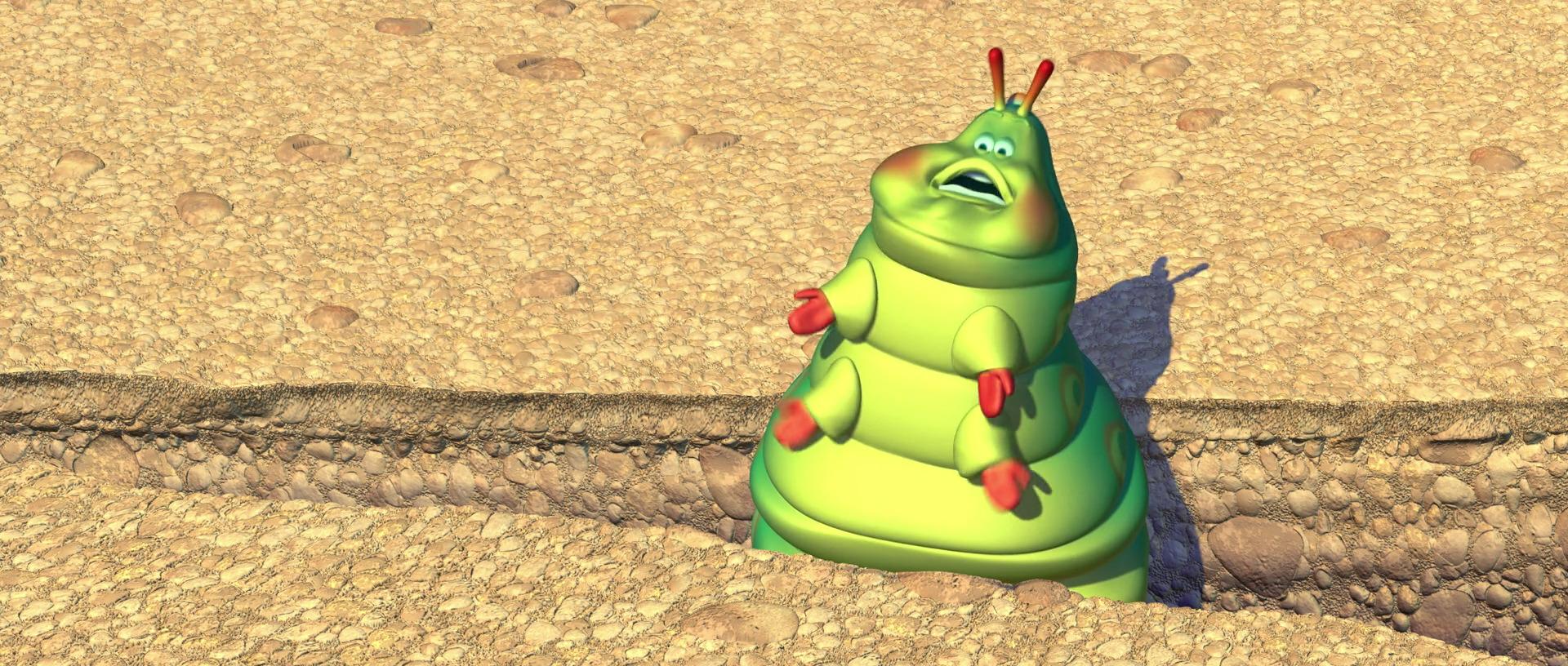 heimlich personnage dans �1001 pattes� pixarplanetfr
