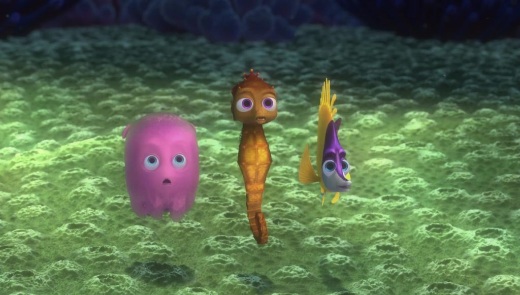 hippo perle titouan sheldon pearl tad monde finding nemo disney pixar personnage character