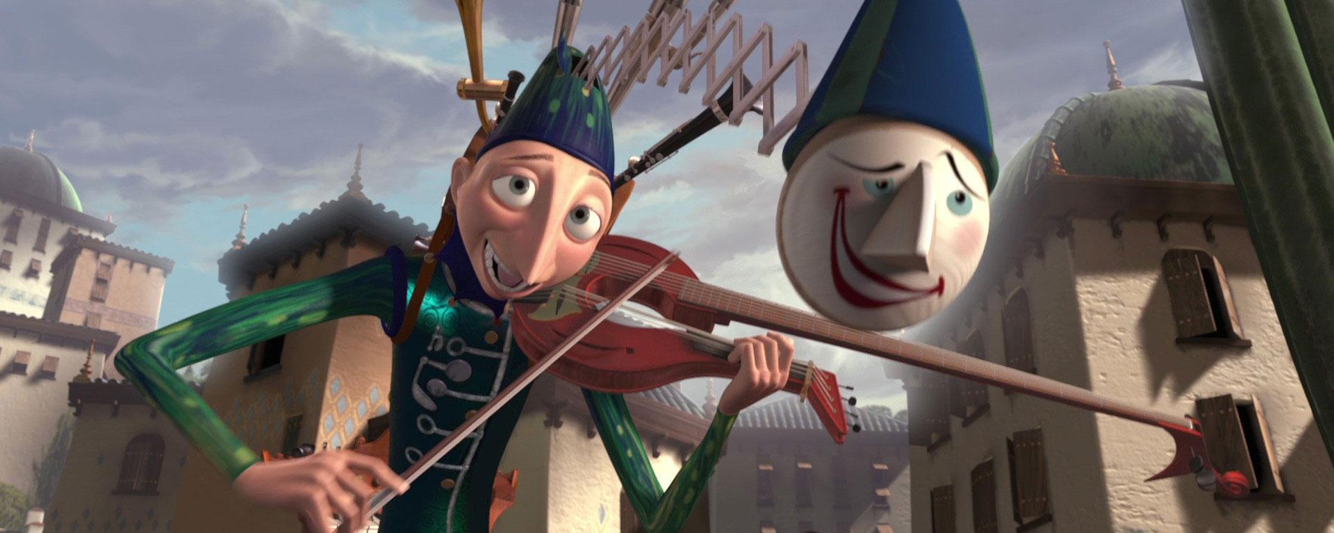 Pixar disney l'homme orchestre one man band