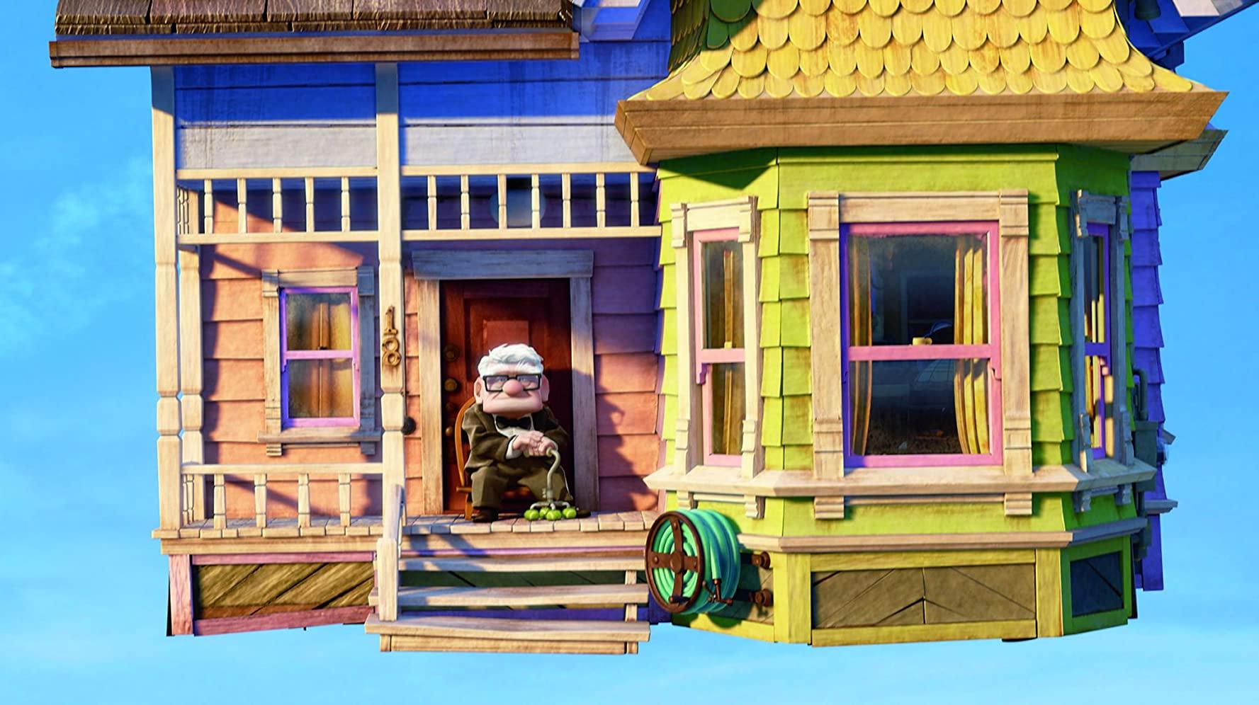 image là-haut up disney pixar
