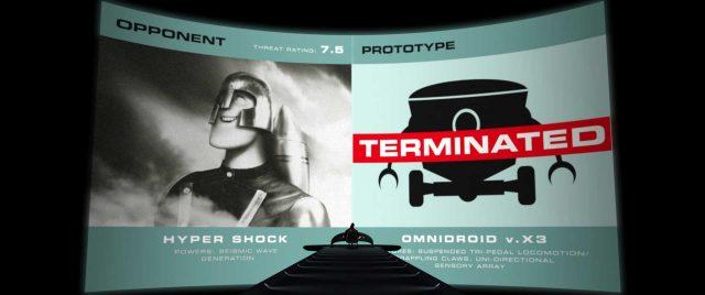 infrachoc Hypershock personnage character indestructibles incredibles disney pixar