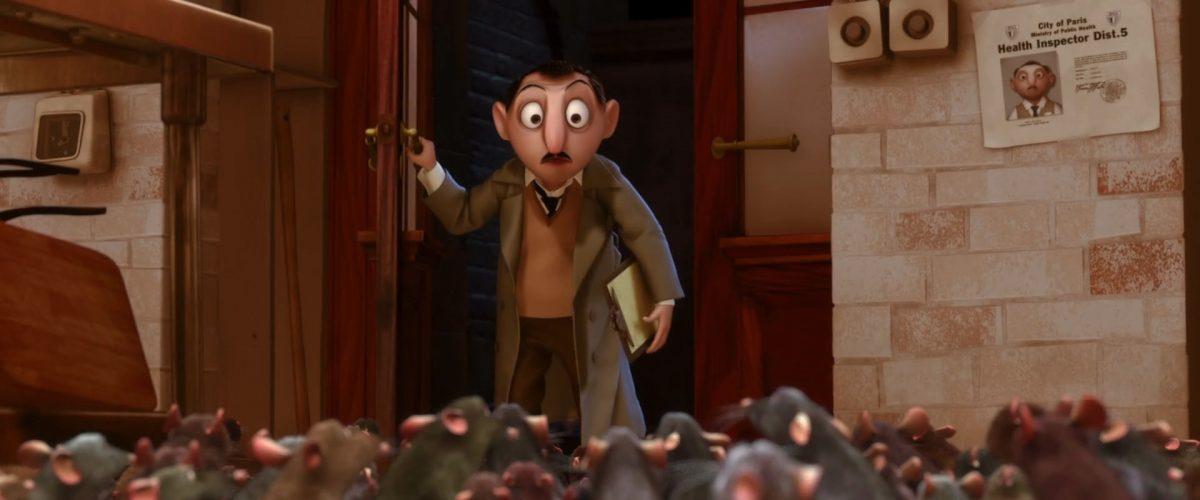 inspecteur inspector sanitaire health personnage character ratatouille disney pixar