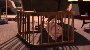 pixar disney jack-jack parr incredibles indestructible baby-sitting personnage character