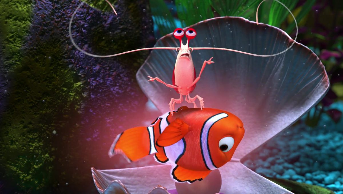jacques personnage character monde nemo finding dory disney pixar
