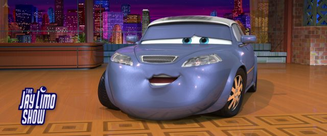 jay limo personnage character cars disney pixar