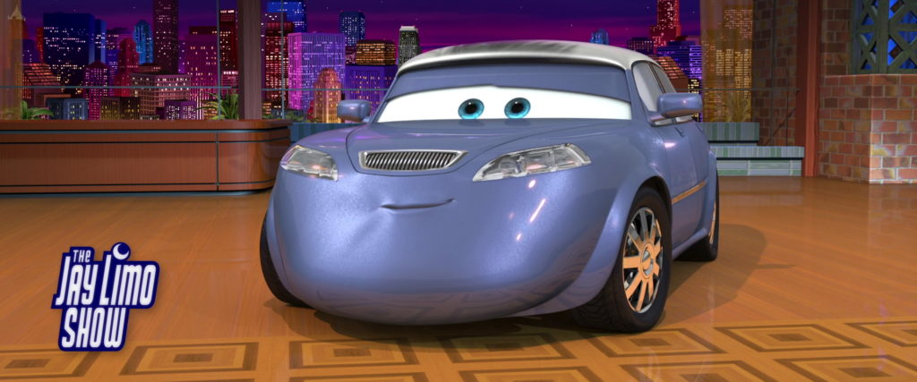 jay limo personnage character pixar disney cars