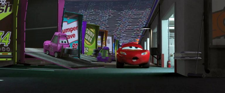 "Jerry Drivechain, personnage dans ""Cars""."