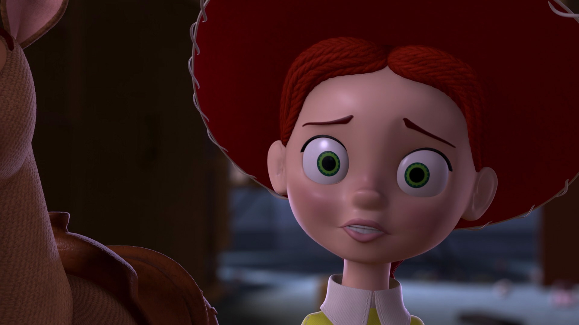 "Toy Story 2 : Jessie character from ""toy story pixar planet"
