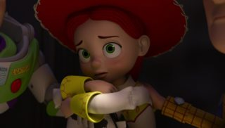 jessie personnage character pixar disney toy story toons angoisse motel terror