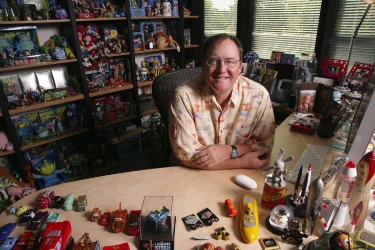 John Lasseter quitte Pixar et Disney.