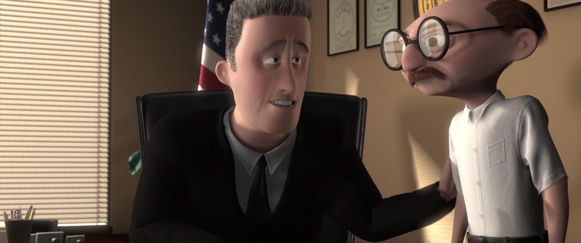 john walker pixar disney personnage character indestructibles incredibles
