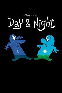 affiche poster jour nuit day night disney pixar