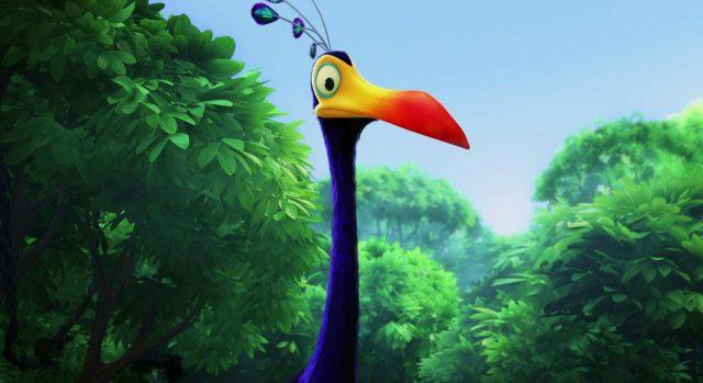 kevin personnage character là-haut up disney pixar