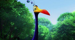 kevin personnage character pixar disney là-haut up