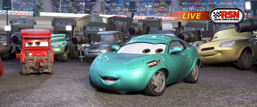 kori turbowitz personnage character pixar disney cars