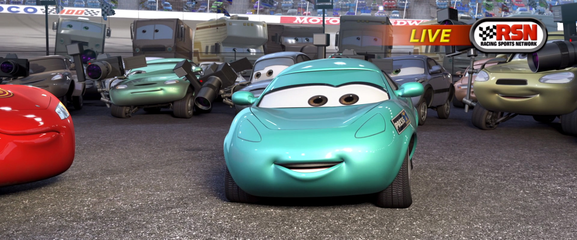 kori turbowitz personnage dans cars pixar planet fr. Black Bedroom Furniture Sets. Home Design Ideas