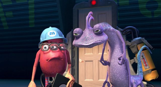 fouine fungus personnage character monstres monsters inc cie disney pixar