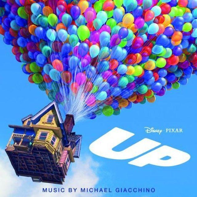Pixar disney bande originale soundtrack là-haut up