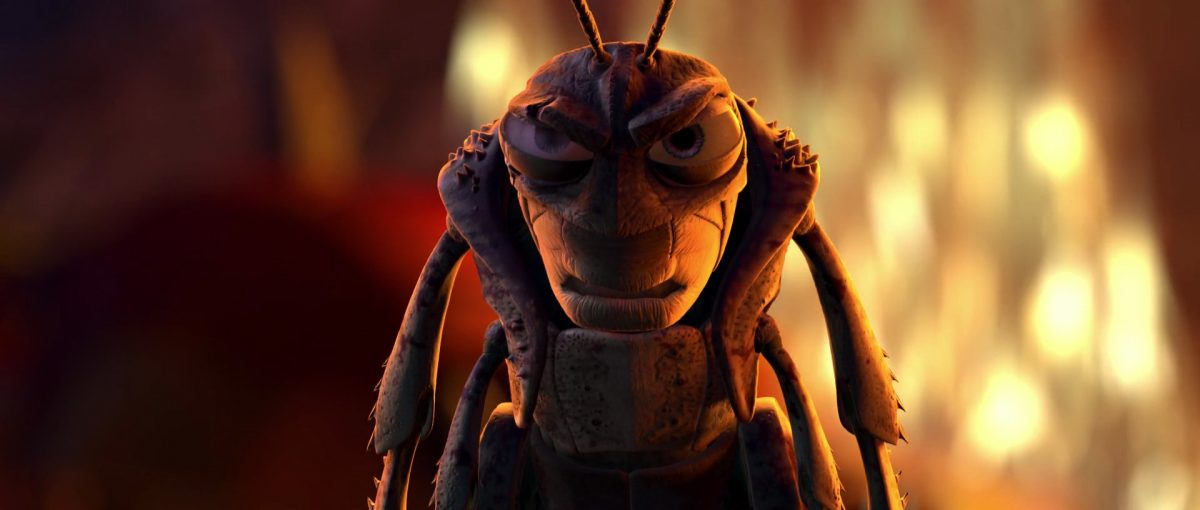 le borgne hopper personnage character 1001 pattes bug life disney pixar