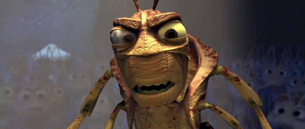 le borgne hopper pixar disney personnage character 1001 pattes a bug life
