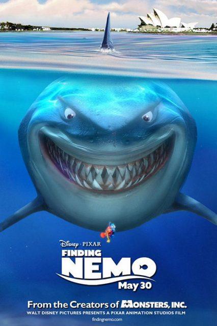 affiche poster monde nemo finding disney pixar