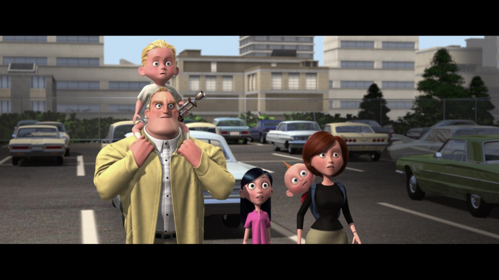 les indestructibles incredibles pixar disney