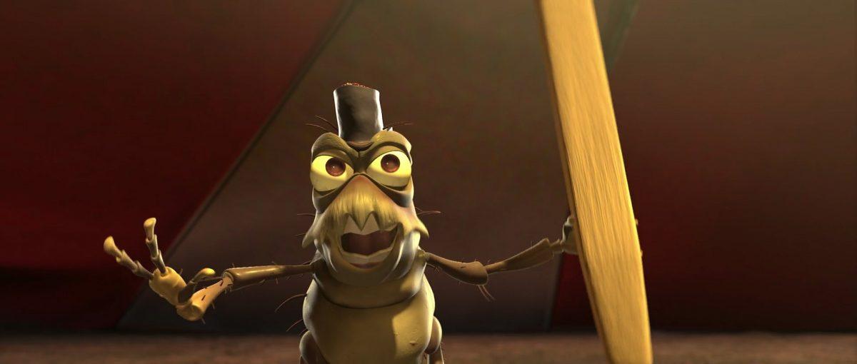 lilipuce pt flea personnage character 1001 pattes bug life disney pixar