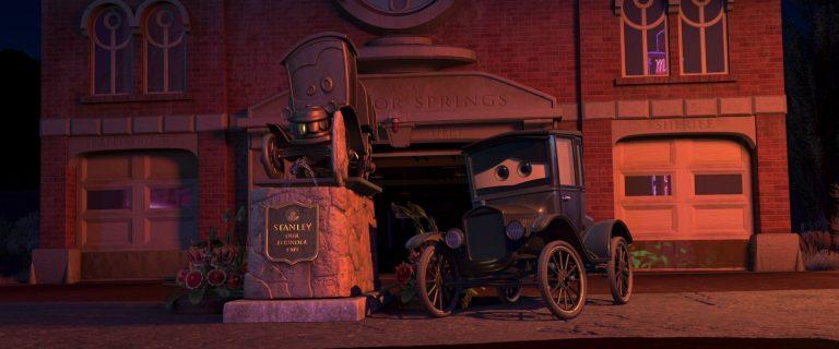 """Lizzie, personnage dans """"Cars""""."""