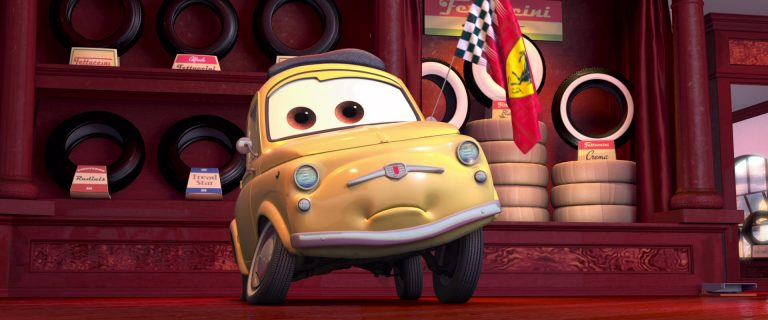 """Luigi, personnage dans """"Cars""""."""