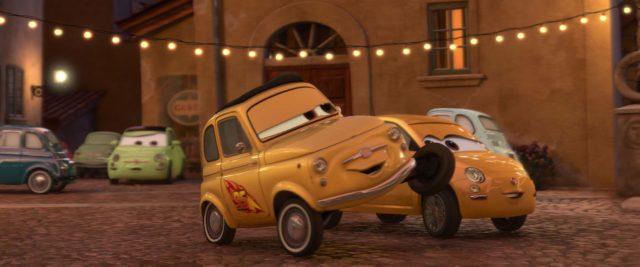 luigi personnage character cars disney pixar