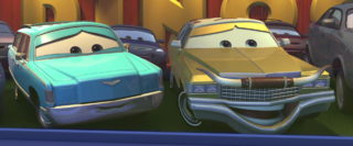 lynda weathers  personnage character pixar disney cars