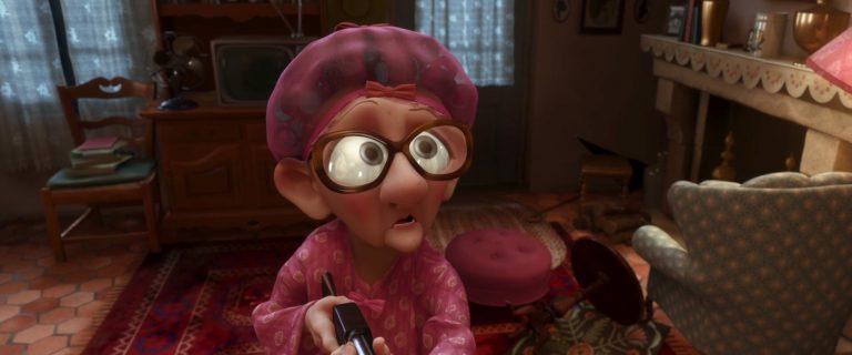"""Mabel, personnage dans """"Ratatouille""""."""