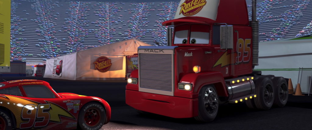 mack personnage character pixar disney cars